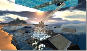 Under water city second Life