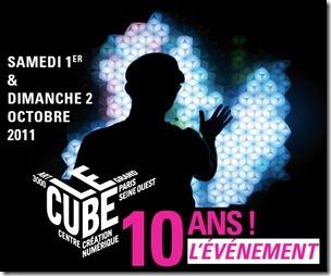 10 ans du Cube