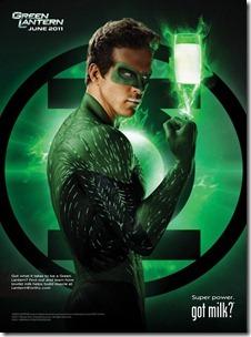 Got Milk - Green Lantern