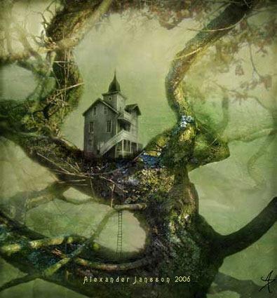 Illustration Conte De Fée alexander jansson, un univers de contes de fées | myartyshow